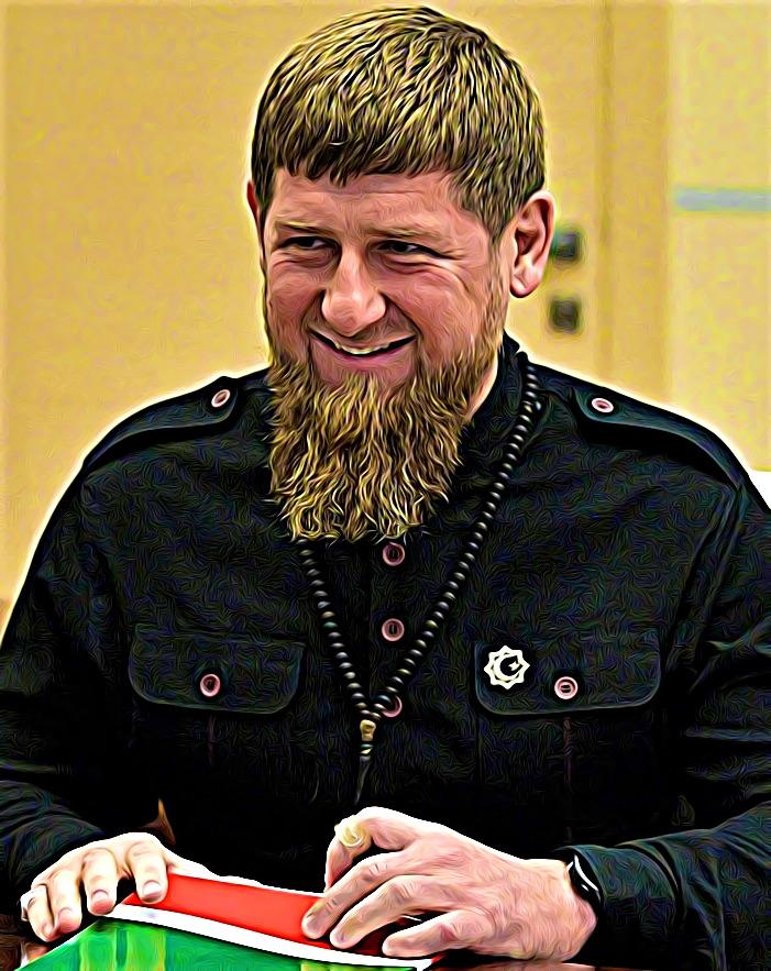 Ramzan Kadyrov Tchétchénie