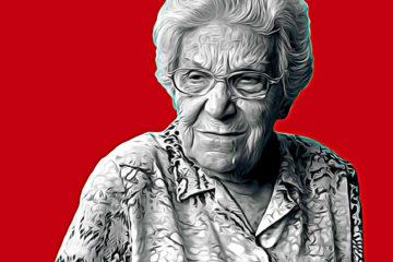 Maria Salvo, 98 ans, a passé sa vie à résister. Condamnée à 16 ans de prison sous Franco et 2 ans au camp de Pouliguen puis ce fut la clandestinité en Catalogne.