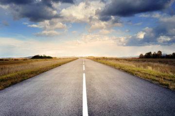 seul sur la route