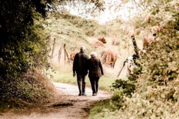 Des seniors sur le chemin