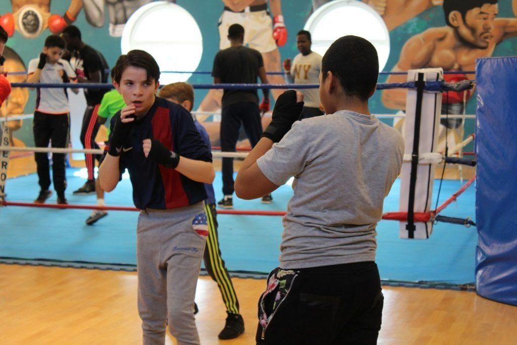 jeunes qui font de la boxe à argenteuil