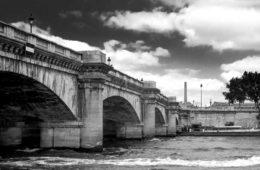 quai de Seine noir et blanc