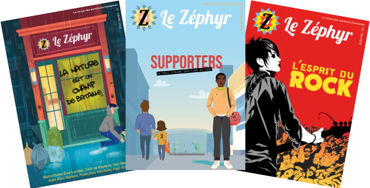 couverture zephyrmag supporters printemps 2019