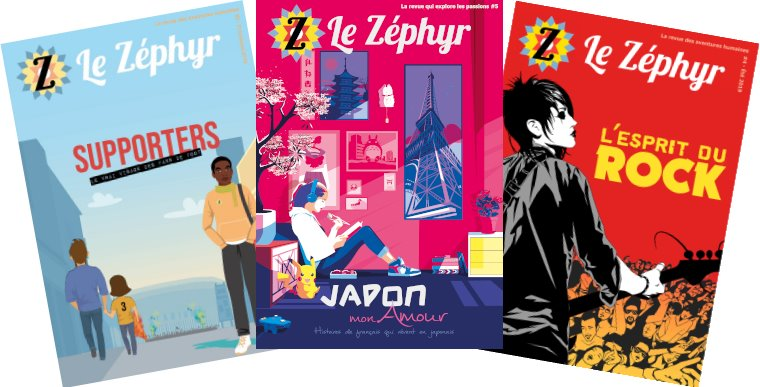 couverture zephyrmag supporters printemps 2019