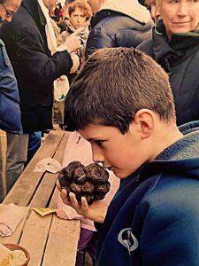moi, il y a quelques année avec les truffes