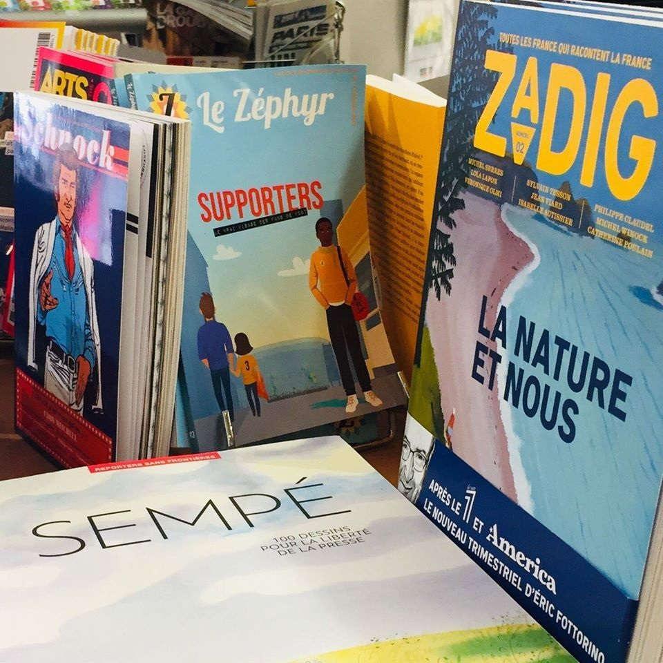 Le Zéphyr est aussi en librairie