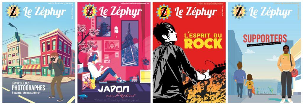 Montage des couvertures du Zéphyr
