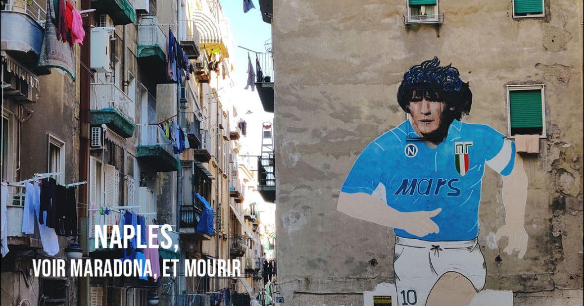 Maradona et naples