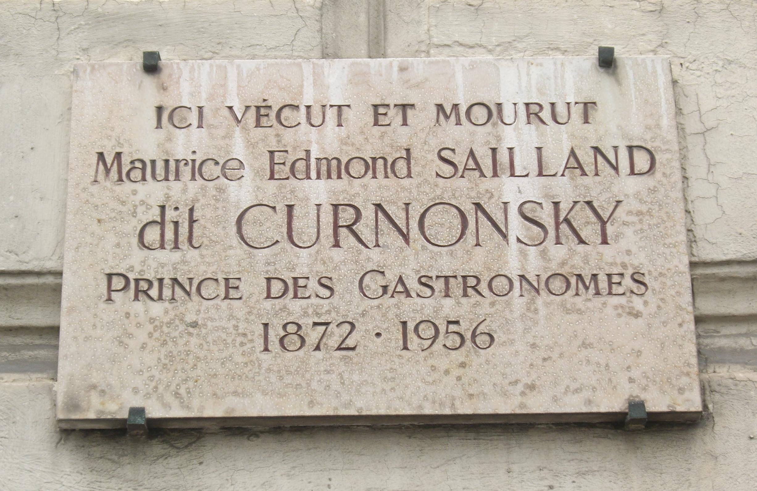 Curnonsky, père des critiques gastronomiques